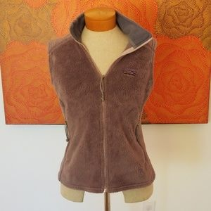 Made in the USA vintage fuzzy Patagonia vest